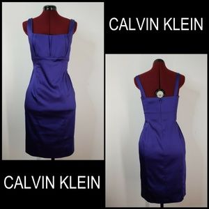 Calvin Klein Woman Sleeveless Stretch Dress Sz 10